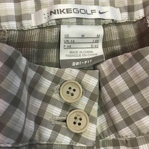 Nike Golf DriFit shorts 10/M